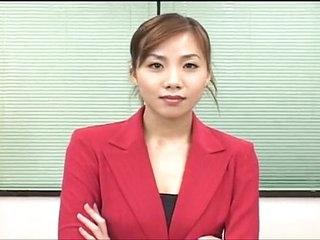 Sexy japanese election woman bukakke