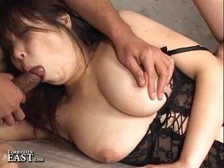 Gorged Japanese Set up Sex