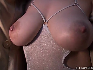 Japanese also pen-friend woods sex plaything in her haity vagina