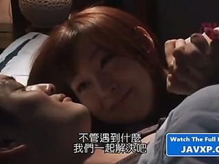 Oriental hottie acquires used by their way boss.threatening japanese jav