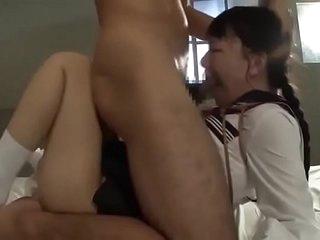 Tiny Japanese Masochistic Schoolgirls Tied, Throated, Degraded & Fucked Hard # Part 1
