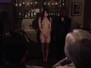 Subtitled Japanese Kurea Hasumi become man slave auction stripping
