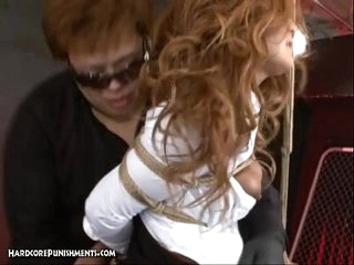 Japanese Bondage Sex - BDSM Punishment of Asuka
