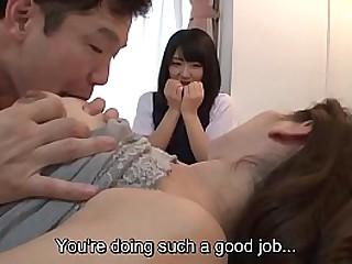 Japanese big tits knockout