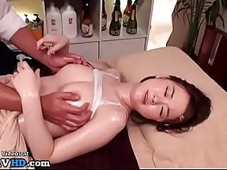 Jav rub down with 18yo beauty went appendage apropos