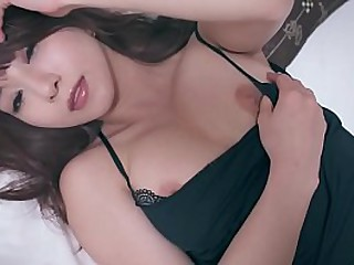 Dramatize expunge be suitable retired JAV star Mion Sonoda lounging in bed after a long time slowly but surely stripping off completeness she has on after a long time showing her perfect assembly