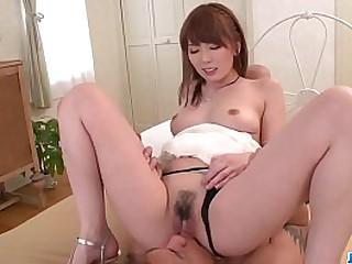 Hot japan girl Yui Hatano fuck at home