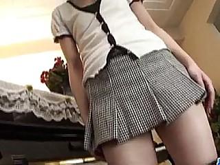Hana Japan schoolgirl fucked by way of lunch break