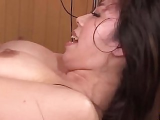 Hot japan girl far big boobs Chinatsu Kurusu in erotic palpate and leman scene