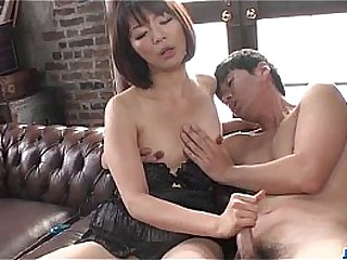 Gorgeous solo wide of lingerie partition Izumi Manaka