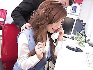 41Ticket - Aiko Nagai is the Office Floosie (Uncensored JAV)