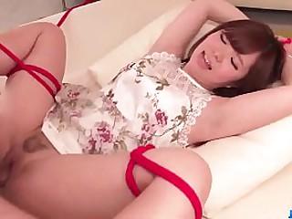 Hot japan ecumenical Chihiro Nishikawa in BDSM scene