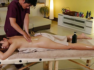 Shiho Tachibana in Shiho Tachibana gets a massage combined with amazing sex - JapanHDV