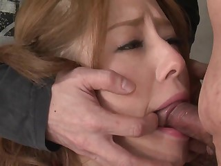 Indulge in pigtails sucks guy's gumshoe after a making whoopee ping reek