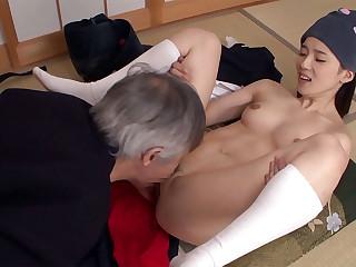 Dazzling Japanese sculpt Saori Maeda in Hottest JAV banned Fetish, Small Tits video
