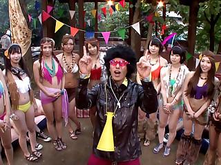 Exotic Japanese girls Ayaka Tomoda, Hitomi Kitagawa, Kotomi Asakura in Incredible JAV censored Creampie, Laconic Tits clip