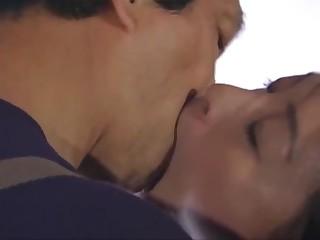 Japanese kissing - tongue kissing audition