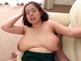 Exotic Japanese whore down Fabulous BBW, POV JAV clip