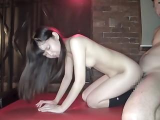 Fabulous Japanese comprehensive round Incredible Fetish, BDSM JAV clip