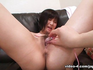 Japanese Teen Gets Toys And Cock In Hairy Pussy - JapanLust