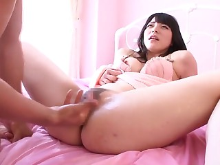 Big ass Japanese beauty pounded from behind (Who is she?)