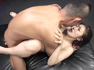 Horny Japanese whore in Exotic MILF JAV scene