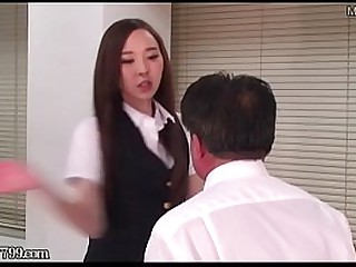 Masochist Man Be born Japanese Office Daughter