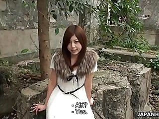 Cute Asian teen gets prepared be useful to her first porn in sight