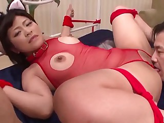 Aika Hoshino enjoys great inches just about her pink cherry - More at 69avs com